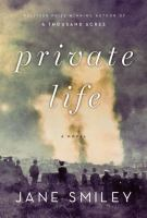 Private life : a novel
