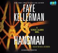 Hangman : [a Decker/Lazarus novel] (AUDIOBOOK)
