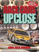 Race cars up close