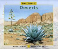 About habitats : deserts