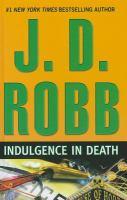 Indulgence in death (LARGE PRINT)