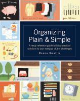 Organizing plain & simple