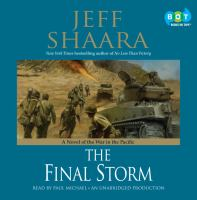 The final storm : a novel of the war in the Pacific (AUDIOBOOK)