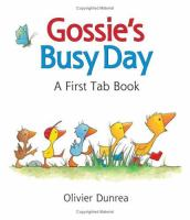 Gossie's busy day : a first tab book