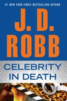 Celebrity in death (LARGE PRINT)