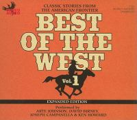 Best of the West. Vol. 1 : classic stories from the American frontier.
