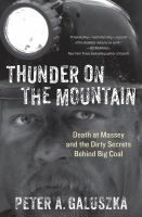 Thunder on the mountain : death at Massey and the dirty secrets behind big coal