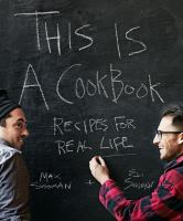 This is a cookbook : [recipes for real life]