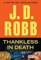 Thankless in death (LARGE PRINT)