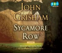 Sycamore row (AUDIOBOOK)