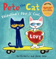 Pete the Cat. Valentine's Day is cool