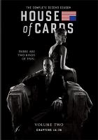 House of cards. The complete second season