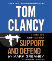 Tom Clancy support and defend (AUDIOBOOK)