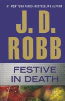 Festive in death (LARGE PRINT)