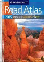 Road atlas, large scale 2015 : United States