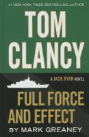 Tom Clancy full force and effect (LARGE PRINT)