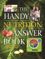 The handy nutrition answer book