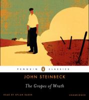 The grapes of wrath (AUDIOBOOK)