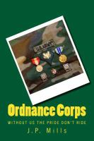 Ordnance Corps: without us the pride don't ride