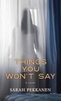 Things you won't say (LARGE PRINT)