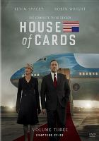 House of cards. The complete third season.