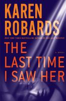 The last time I saw her (LARGE PRINT)
