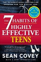 The 7 habits of highly effective teens : the ultimate teenage success guide