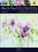 Flowers in water colour