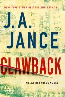 Clawback : an Ali Reynolds novel (LARGE PRINT)