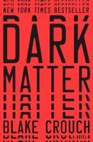 Dark matter : a novel