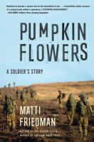 Pumpkinflowers : a soldier's story