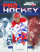 Who's who of pro hockey : a guide to the game's greatest players