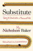 Substitute : going to school with a thousand kids