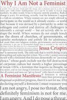 Why I am not a feminist : a feminist manifesto