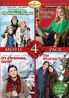 Hallmark Channel holiday collection movie 4 pack. The Town Christmas forgot, Naughty or nice, It's Christmas, Carol!, The Wishing tree
