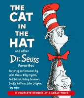 The cat in the hat and other Dr. Seuss favorites (AUDIOBOOK)