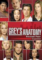 Grey's anatomy. Complete fourth season