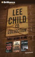 Lee Child CD collection [2] : running blind ; echo burning ; without fail. (AUDIOBOOK)