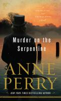Murder on the Serpentine (LARGE PRINT)