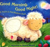 Good morning, good night! a touch & feel bedtime book