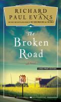 The broken road (LARGE PRINT)