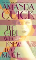 The girl who knew too much (LARGE PRINT)