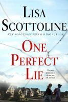 One perfect lie (LARGE PRINT)