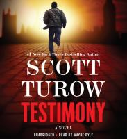 Testimony (AUDIOBOOK)