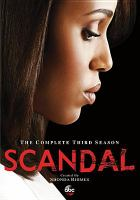 Scandal. The complete third season.