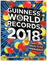 Guinness world records 2018.