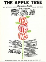 The apple tree. Forbidden fruit from the musical production The apple tree