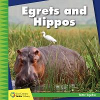 Egrets and hippos