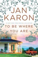 To be where you are : a Mitford novel (LARGE PRINT)
