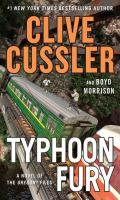 Typhoon fury : a novel of the Oregon files (LARGE PRINT)